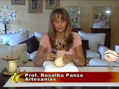 Alhajero con cáscara de huevo de ñandu - Programa QUINTO ELEMENTO - Año 2009