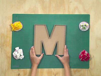 ¿Aún estás pensando en la decoración para el día de las madres? Aquí te compartimos una idea.