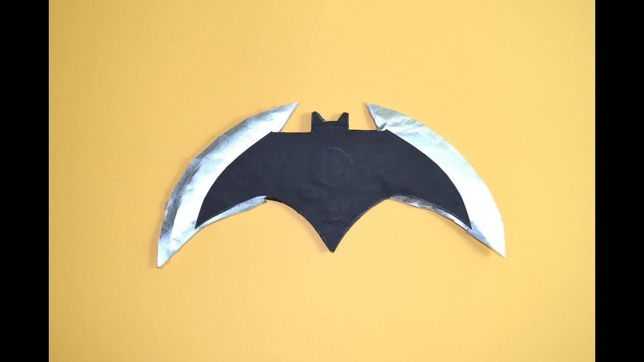 Como Hacer Un Cuchillo De Papel El Cuchillo De Batman