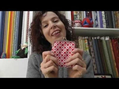 Cómo hacer un monedero con boquilla recta - Patrones GRATIS