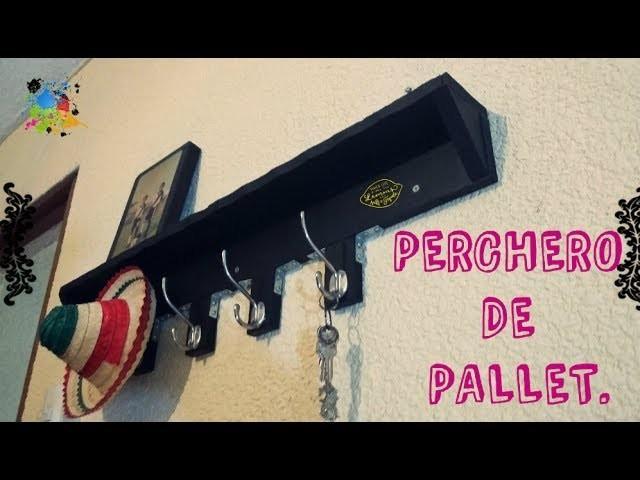 ¿Como hacer un Perchero? DIY | Reciclando Pallets.