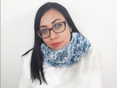 Cuello a crochet facil