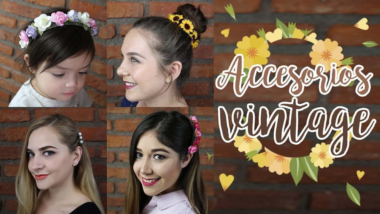 DIY Accesorios.Diademas vintage para tu cabello
