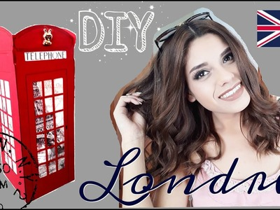 ♡ DIY ♡ Caja en forma de caseta telefónica ♡  LONDRES ♡  Caja para San Valentín ♡ Erandy