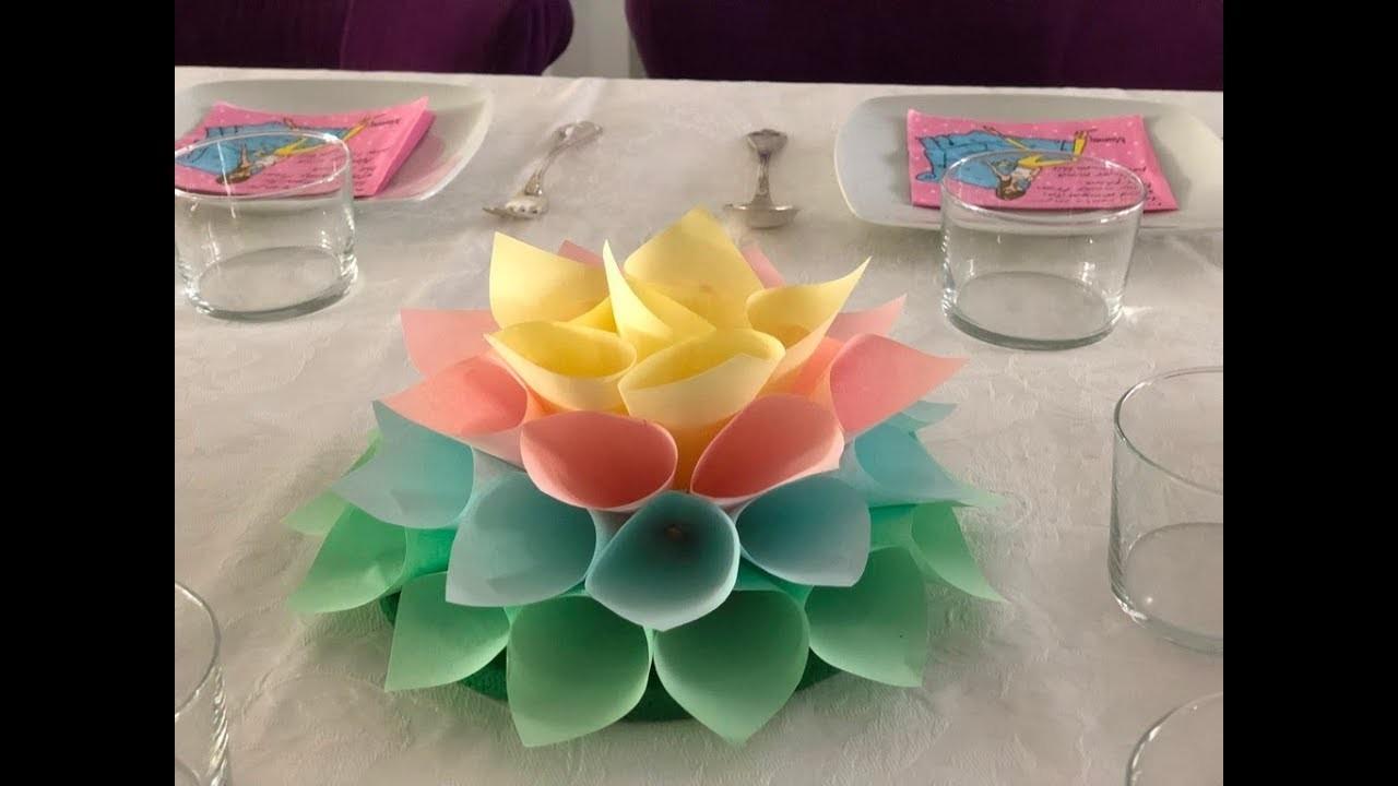 DIY. Como hacer un centro de mesa para fiestas infantiles (o de mayores)