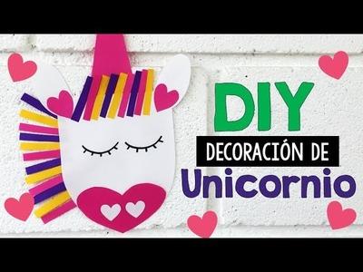 DIY decoración de Unicornio - Minders Psicología Infantil