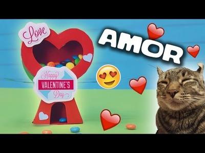DIY El regalo más increíble para tu novio (con moldes). CAT CRAFT
