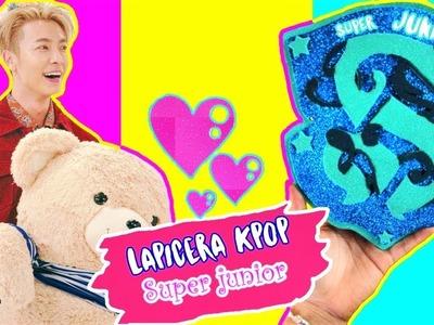 DIY KPOP : ¡Haz LAPICERA DE SUPER JUNIOR CON FOAMY! Regreso a Clases ♡ Manualikpop
