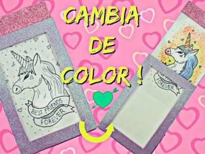 DIY: Tarjeta mágica ¡CAMBIA DE COLOR! - San Valentin.♥