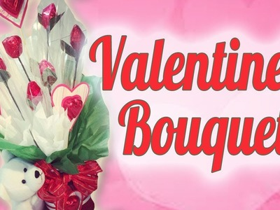 Fácil bouquet de Chocolates para San Valentín