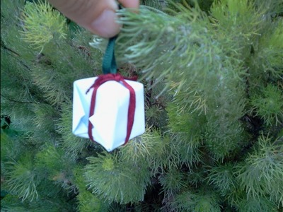 Gift Ornament Christmas tree Regalo adorno arbol Navidad Part I