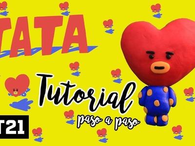 HAZ A TATA DE BT21 !! ♥ (BTS DIY FACIL) |Betzy ♥