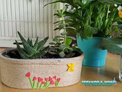 Idea para reciclar y decorar