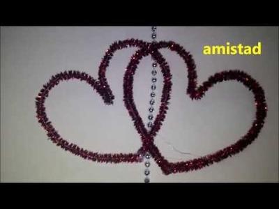 Mariposas y corazones, detalles para el dia del amor.|manualidades creativas|