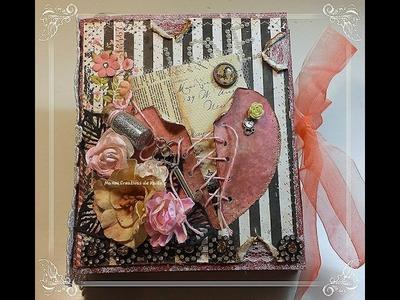 """Mini álbum """"La Bella Rose"""" Estructura"""