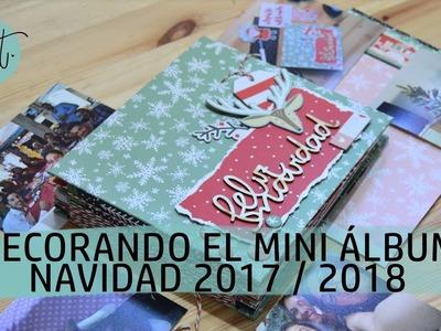 Mini álbum Navidad - Decoración - UGDT
