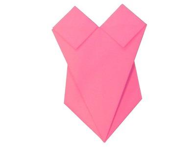 Origami traje de baño