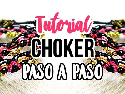Paso A Paso: Choker zigzag [ fácil ] ♥︎ macrame tutorial | como hacer | diy ● Gargantilla #103