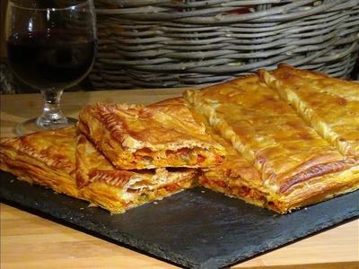 Receta Empanada de pisto y atún - Recetas de cocina, paso a paso, tutorial