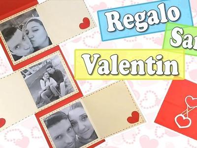REGALO DE SAN VALENTIN - TARJETA DE SAN VALENTIN - DIy San Valentin- Paito