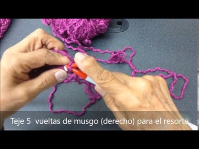 08b96844c Puntilla crochet utilisima