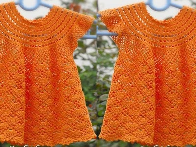 Tejidos a Crochet Trajes para Niñas