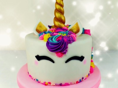 Torta de Unicornio | Unicorn Cake | Tutorial | How to
