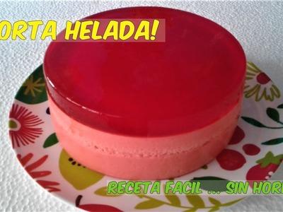 TORTA HELADA RECETA FACIL