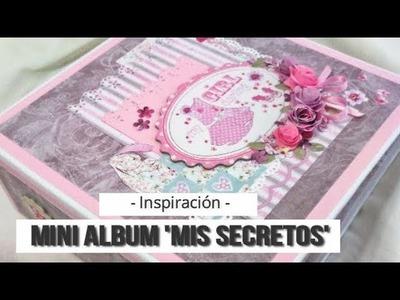 ALBUM INFANTIL 'MIS SECRETOS' (COLABORACION CON CUQUICOSAS) - INSPIRACION | LLUNA NOVA SCRAP