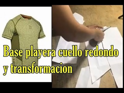 Aprendamos a hacer la base de una playera (Video en vivo de facebook)