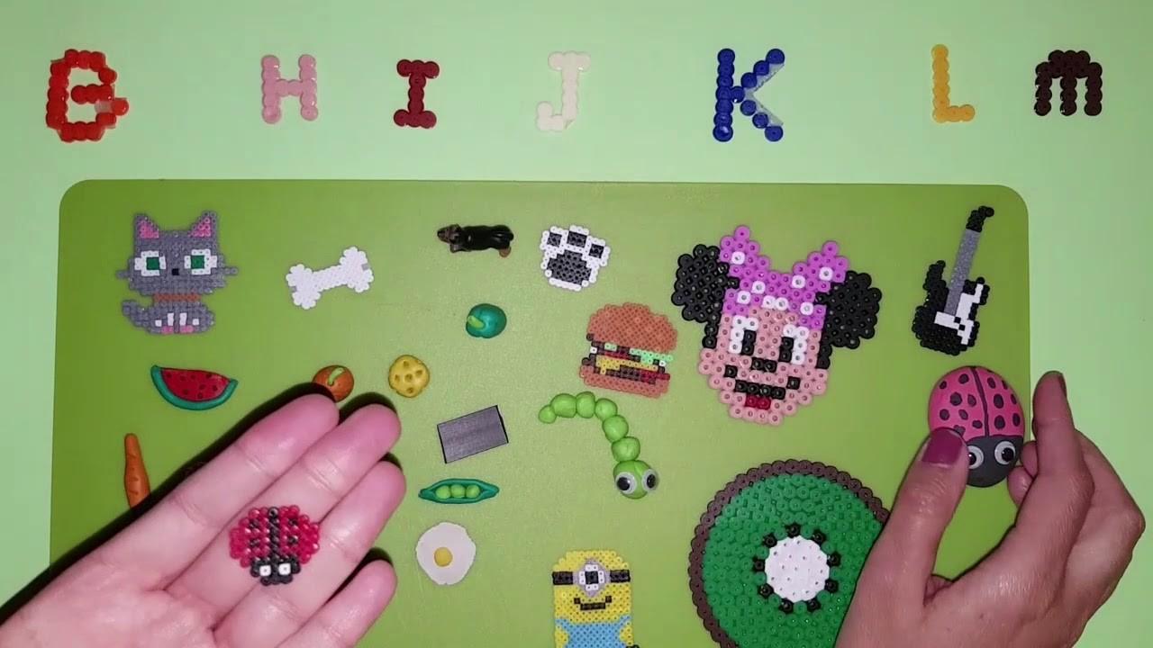 Aprende con hama beads