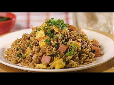 Como hacer Arroz chaufa peruano.how to make chinese peruvian fried rice.