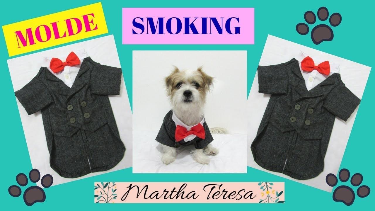 Como Hacer un MOLDE de Smoking Para Perritos-DIY-1ra parte.
