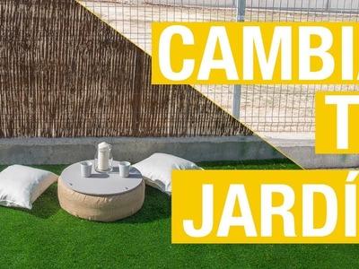 Cómo instalar una valla de mimbre en el jardín · Handfie DIY