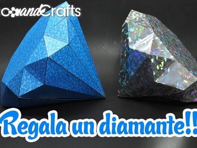 Diamante Gigante! Cajita de regalo muy original - DecoAndCrafts