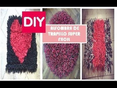 DIY  Alfombra de trapillo super fácil !!