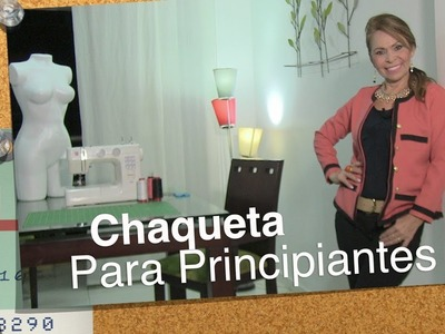 DIY Chaqueta para Principiantes   Jacket for Beginners- Omaira TV