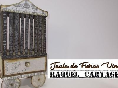 DIY TUTORIAL EL CIRCO Jaula de Fieras scrapbooking cartonaje