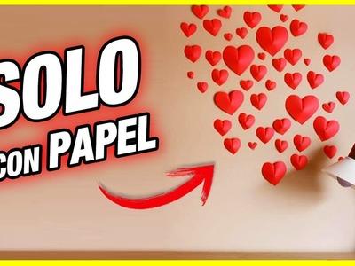 Haz la Mejor Decoración de San Valentín (Muy Fácil) | Pablo Inventos