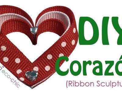 HEART Tutorial Ribbon Sculpture