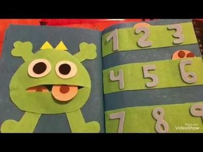 Libro de aprendizaje para niños 1 parte