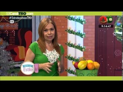 Manualidad del día: Frutas en porcelanicron