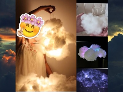 Nube con Luces como Tumblr DIY  ⛅️ ♥️. DIY Cloud Lights ⛅️