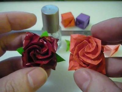 Origami nice rose.