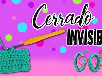 Terminación de tejido INVISIBLE    Moda Crochet Maritza
