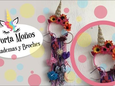 ???? Unicornio Porta Moños, Broches y diademas :: Unicron DIY Craft ????