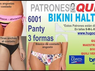 6001 BIKINI HALTER TALLAS PLUS panty
