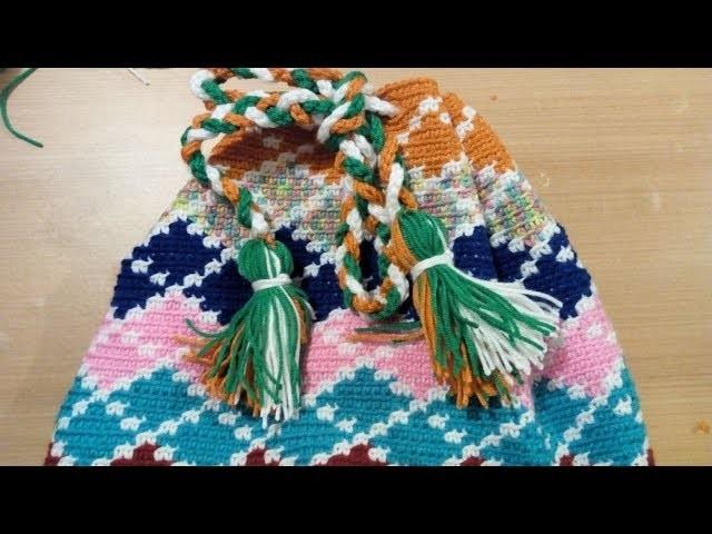 76.- Reto Bolso Tapestry - Tarea 5 El cordon y las Borlas