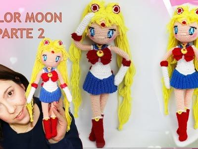 Amigurumi muñeca Sailor Moon (parte 2.5)