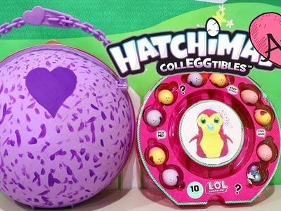 Bola gigante DIY Hatchimals y huevos sorpresa | Muñecas y juguetes con Andre para niñas y niños